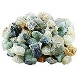 mookaitedecor - Pietre naturali per litoterapia, grezze, cristalli per guarigione, minerali, collezione per decorazione, 460 g/set, Pietra, Préhnite