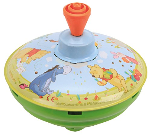 Bolz 52480 Brummkreisel Winnie The Pooh, circa 13 cm