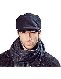 Kenmont Les hommes solide couleur unie lierre casquette chapeau pliage bouchon chauffeur de taxi gavroche chapeau