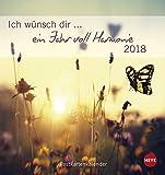 Ich wünsch dir ein Jahr voll Harmonie Postkartenkalender - Kalender 2018