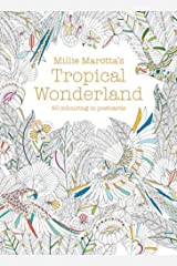 Millie Marotta's Tropical Wonderland Postcard Box: 50 Beautiful Cards for Colouring in (Postcards) Hardcover