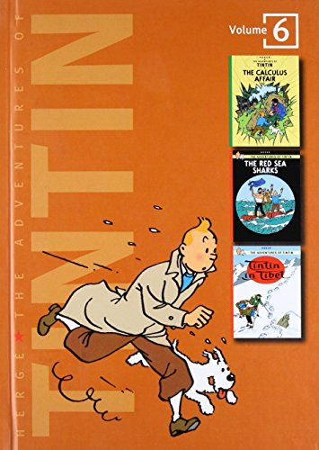 The Adventures of Tintin, Volume 6: The Calculus Affair, The Red Sea Sharks, and Tintin in Tibet (Tintin Three-In-One) por Herge