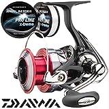 Daiwa Ninja A Spinnrolle mit Frontbremse + gratis 0,30mm Pro Line x-treme Schnur
