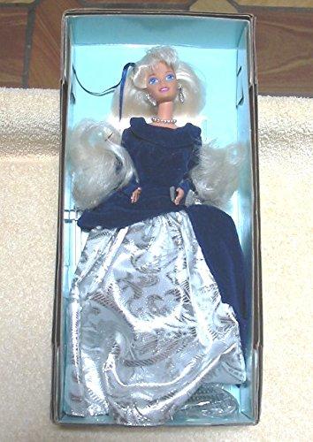 Avon Winter Velvet Barbie 1995 - Velvet Holiday-outfit