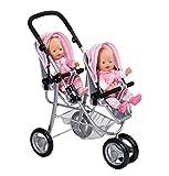 BABY born - Cochecito de paseo para gemelos (Zapf Creation 820940)