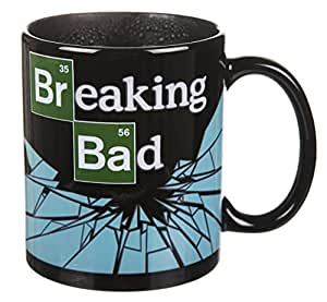 breaking bad logo chaleur changeant mug cuisine maison. Black Bedroom Furniture Sets. Home Design Ideas