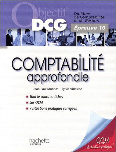 Objectif Dcg Comptabilite Approfondie