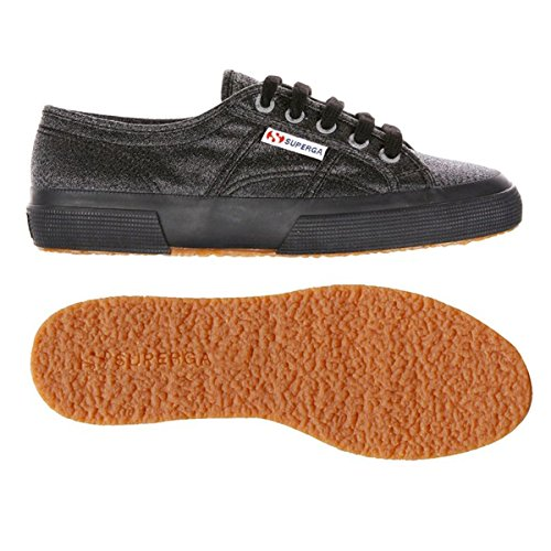 Superga 2750 LAMEW, Baskets mode mixte adulte FULL BLACK