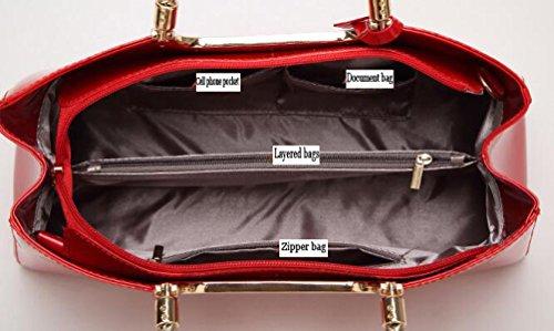 Bridal Dinner Handbag Bright Ladies Shoulder Bag Party Evening Wedding Borsa Della Frizione Della Borsa HotPink