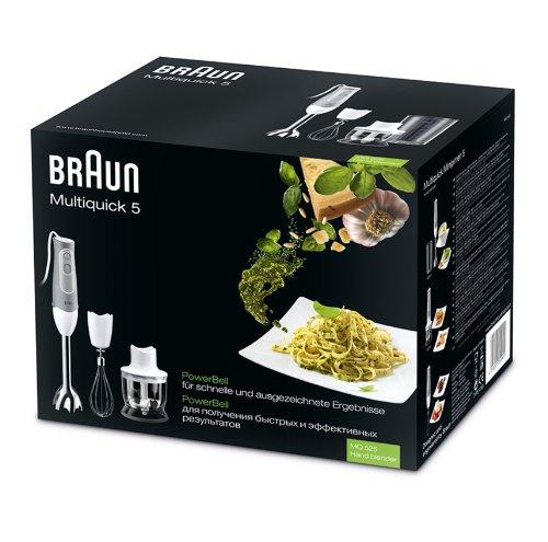 Braun Multiquick 5 MQ 525 Omelette – hand blender – white/grey