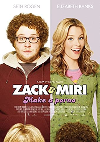 Zack And Miri Make A Porno Movie Poster 70 X 45 cm