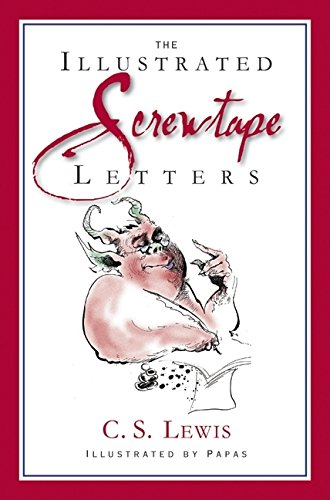 Book cover for The Screwtape Letters
