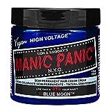 Manic Panic 612600110418 - Crema semi-permanente para coloración, Blue Moon