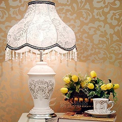 Lámparas de cabecera o simple lámpara cerámica creativa moderna dormitorio salón boda mesa decorativas lámparas/iluminación/dimensiones: 660