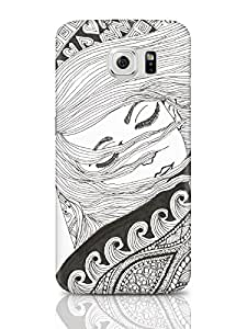 PosterGuy Sleeping Beauty Line Art Graphic Illustration Samsung Galaxy S6 Covers