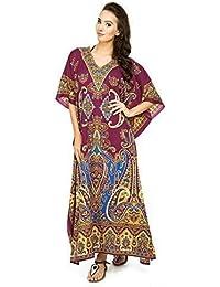 New Ladies Oversized Maxi Kimono Kaftan Tunic Kaftan Dress Free Size d6dced9c89d6