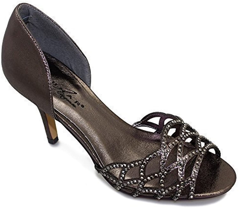 Fantasia Strass - Chaussures à Talon découpe Brillante Strass Fantasia pour FemmesB00U1B878UParent 4dedf8