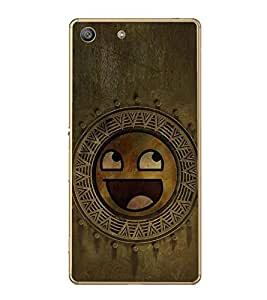 Fuson Designer Back Case Cover for Sony Xperia M5 Dual :: Sony Xperia M5 E5633 E5643 E5663 (Smiley Smiling Smiley Circles multi Circles Smiling)