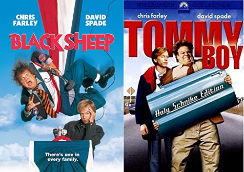 SNL Chris Farley and David Spade Comedy Duo Collection - Tommy Boy & Black Sheep 2-DVD Bundle