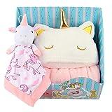 Winthome Juego de regalo para bebé, toalla de baño con capucha...