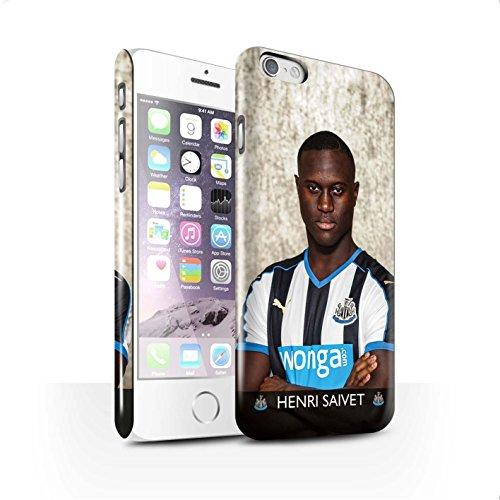 Officiel Newcastle United FC Coque / Clipser Brillant Etui pour Apple iPhone 6 / Pack 25pcs Design / NUFC Joueur Football 15/16 Collection Saivet