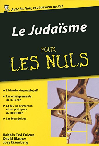 Le Judaïsme pour les Nuls poche par David BLATNER