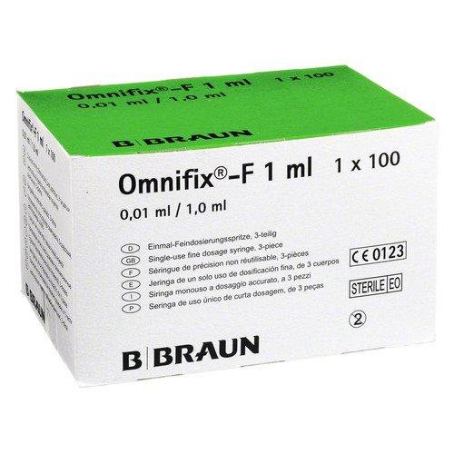 OMNIFIX F Solo Spr.1 ml 100 ml Spritzen