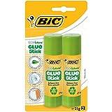 Bic Ecolutions - Blister de 2 Tubes de Colle - 21g