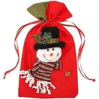 10 Organza WeihnachtsbeutelGrün7,5x10 cmGeschenkverpackung Weihnachten