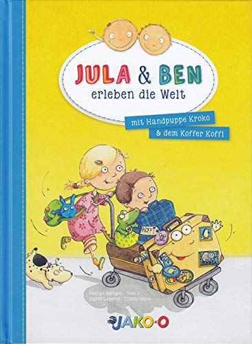 Jula & Ben erleben die Welt mit Handpuppe Kroko & dem Koffer Koffi