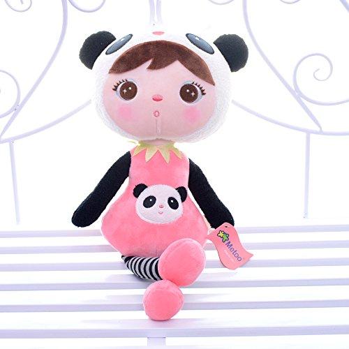 Metoo Bambola Jibao Panda Bambola Bambini Bambino Giocattoli Di Peluche Regali Di Compleanno 16''