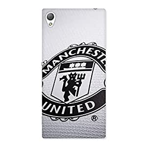 Special Grey MU Team Back Case Cover for Sony Xperia Z3