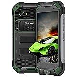 Blackview BV6000 Outdoor Handy,32GB ROM + 3GB RAM mit 4.7 Zoll Display IP68 Smartphone Wasserdicht, Staubdicht Stoßfest, 13MP + 5MP Kamera 4500mAh 9V 2A Schnellladung Robust Smartphone,Grün