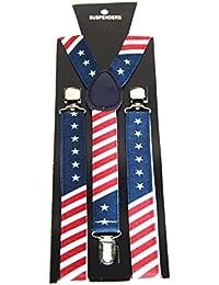 Adult/Kids Fun Colourful Novelty Design Trouser Braces/Suspenders