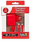 Under Control 6-in-1-Ladegerät/Netzteil für DSi XL/DSi/DS Lite / 3DS XL / 3DS / 2DS, Rot