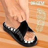 Ciabatte massaggiatore pantofole casa taglia S Dr Gem Acu Spots massaggio piedi uomo donna