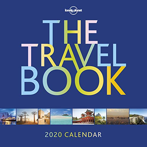 The Travel Book Calendar 2020: Wall Calender (Lonely Planet)
