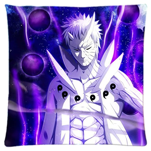 Obito Uchiha Naruto Custom Rechteck Home Dekorative Bett Kissen 45,7x 45,7cm-ruckey Wone -