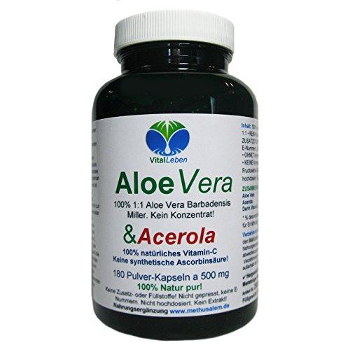 ALOE-VERA + ACEROLA 100% natürliches