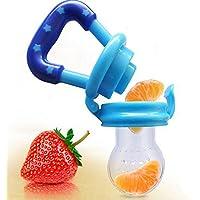 Youkara Mordedura de La mordedura Del Bebé Mordedura de La Mordedura Bolsas de Frutas Y Verduras Suplementos Para Las Frutas Y Verduras Alimentador Del Bebé 2.9 * 10.4cm