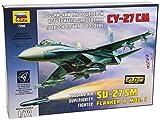Zvezda 500787295 - Modellino aereo di guerra SU-27SM, scala: 1:72
