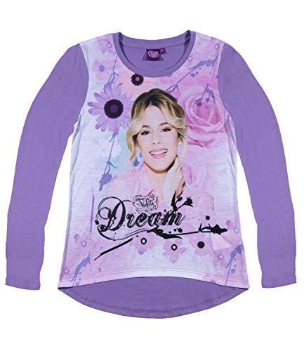 Disney violetta ragazze maglietta maniche lunghe - viola - 164