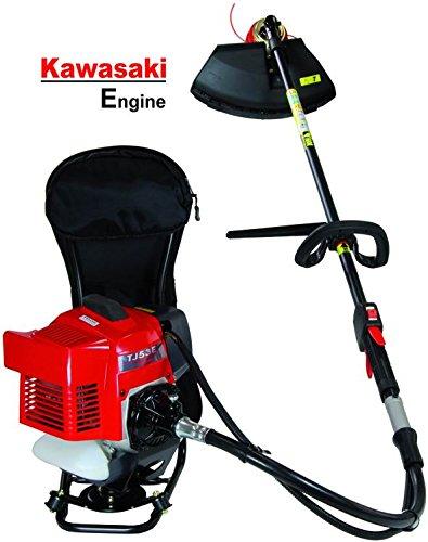 Kawasaki TJ-53E con motor de gasolina