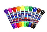 #8: Majik Different Colour 10 Pcs Stamp Roller For Kids | Return Gifts for Birthday Party | Stamp Rollers