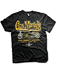 2373ee2ba1e4 Gas Monkey Garage Officially Licensed - Custom Hot Rods T-Shirt T Shirt GMG