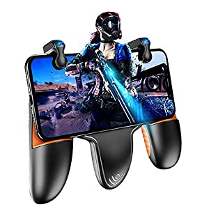 PUBG Mobile Controller, Auto High Frequency Click Mobile Game Controller Trigger für PUBG/Fortnite/Rules of Survival Gaming Grip und Gaming Joysticks für Android iOS Handy