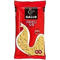 Gallo - Pastas Fideo Nº5, Paquete 250 g