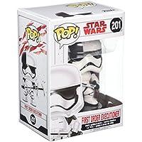 Star Wars - Figuara de vinilo: POP! Bobble: Star Wars: E8 TLJ: Soldado de asalto de la primera orden