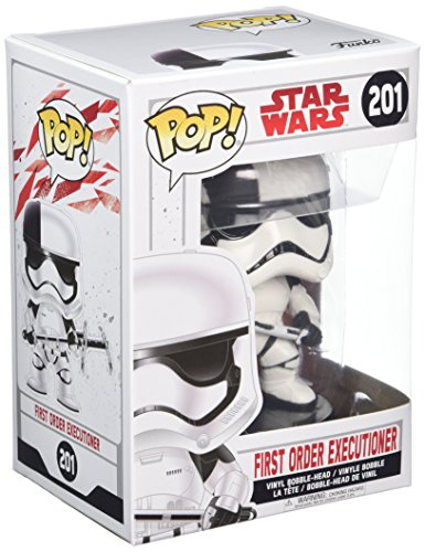 Funko 14749 The Last Jedi No Bobble: Star Wars: E8 TLJ: First Order Executioner (POP 8), Multi