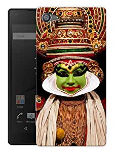 "Humor Gang Kathak Dancer Printed Designer Mobile Back Cover For ""Sony Xperia Z5 Mini - Compact"" (3D, Matte Finish, Premium Quality, Protective Snap On Slim Hard Phone Case, Multi Color)"